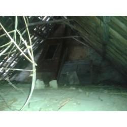 Vernieuwen dak huisje 1114