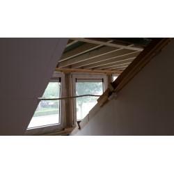 Aftimmeren 2 kamers en wc realiseren na plaatsen dakkapel